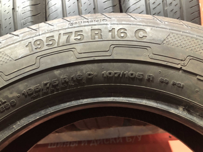 195/75 R16C 107/105R Continental Vanco Eco