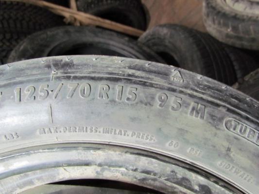 Докатка VW 3.5x15 4x100 ET40 125/70 R15 Continental