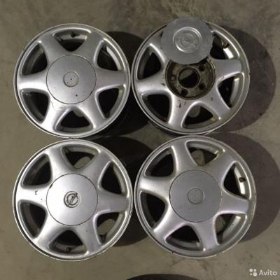 Литые диски GM R15 5x114.3