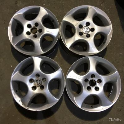 Литые диски Toyota R15 5x100