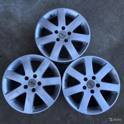 Литые диски Autec R16 5x108