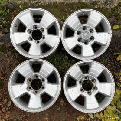 Литые диски Toyota R17 6x139.7