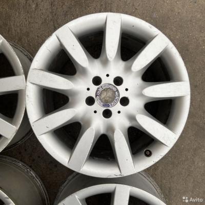 Литые разноширокие диски MercedesBenz R18