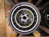 Диски железные R15 5x112 ET-47 Black