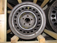 Диски железные R15 5x110 ET33 Black